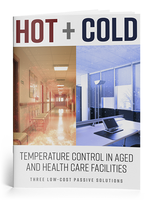 Regulating Temperature in Aged and Health Care Facilities